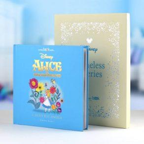 Alice In Wonderland Personalised Timeless Disney Book