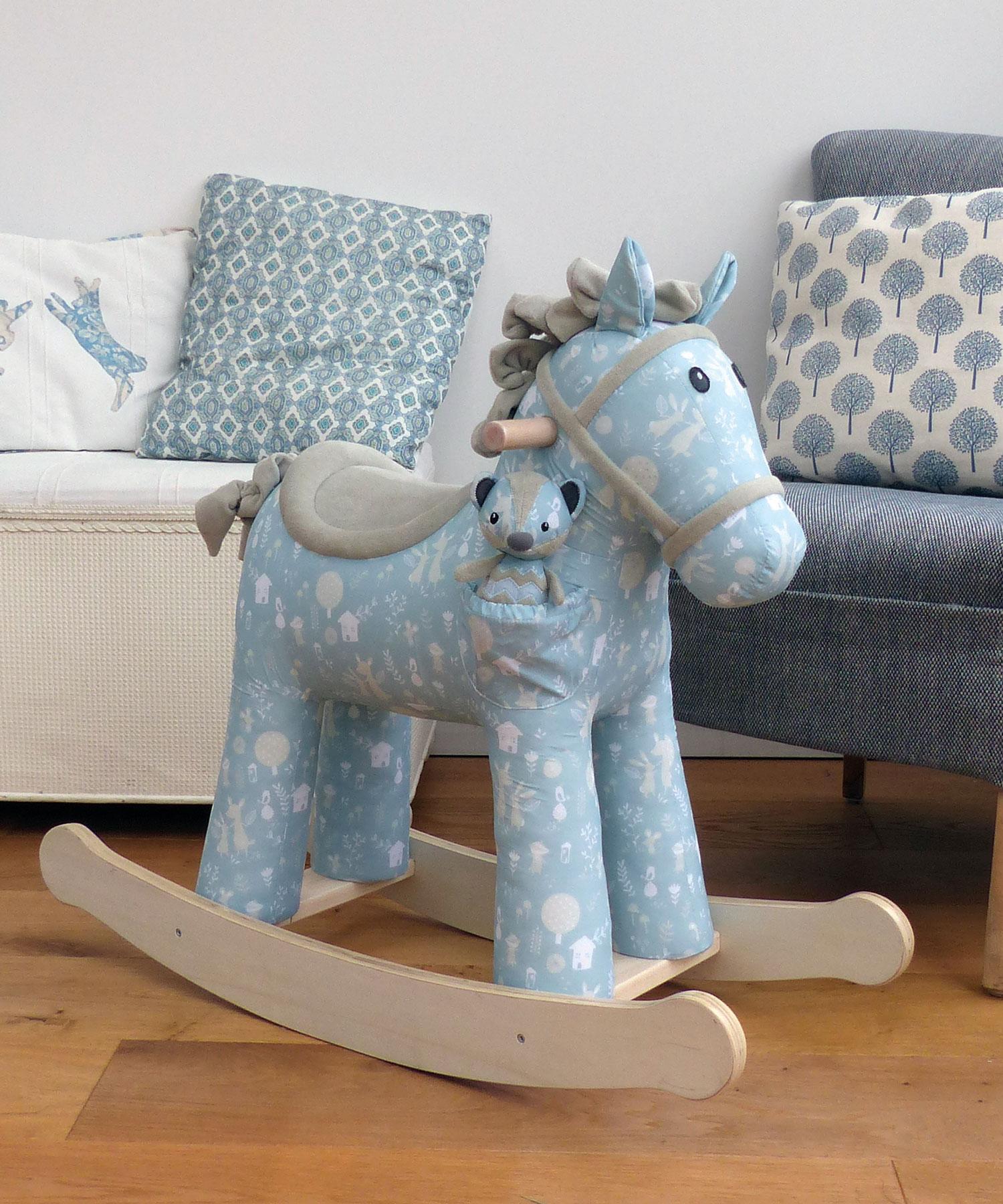 Finn & Munchkin Personalised Rocking Horse