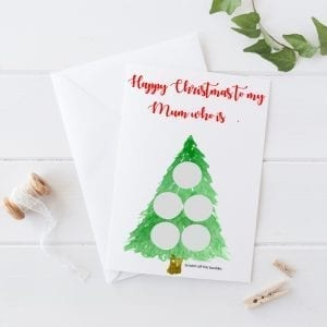 Scratch & Reveal Personalised Christmas Card