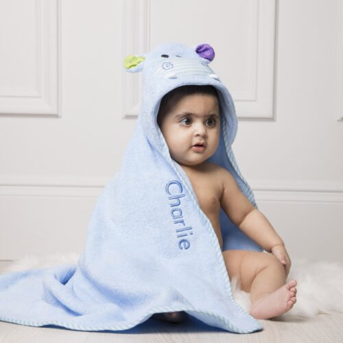 Personalised Zoocchini Blue Henry