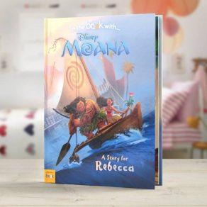 Moana Personalised Disney Book