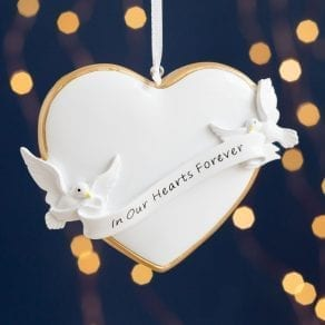 Hearts Forever Memorial Christmas Decoration