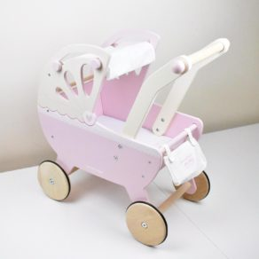 Personalised Pink Sweet Dreams Pram