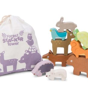 Personalised Forest Stacking Animals & Bag