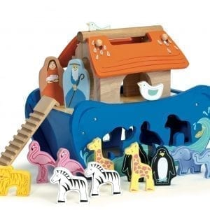 Personalised Noah's Ark Shape Sorter