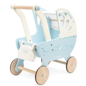 Personalised Blue Sweet Dreams Pram