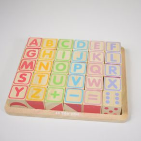 Personalised ABC Wooden Blocks