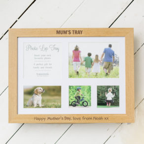 Personalised Mother's Day Photo Lap Tray