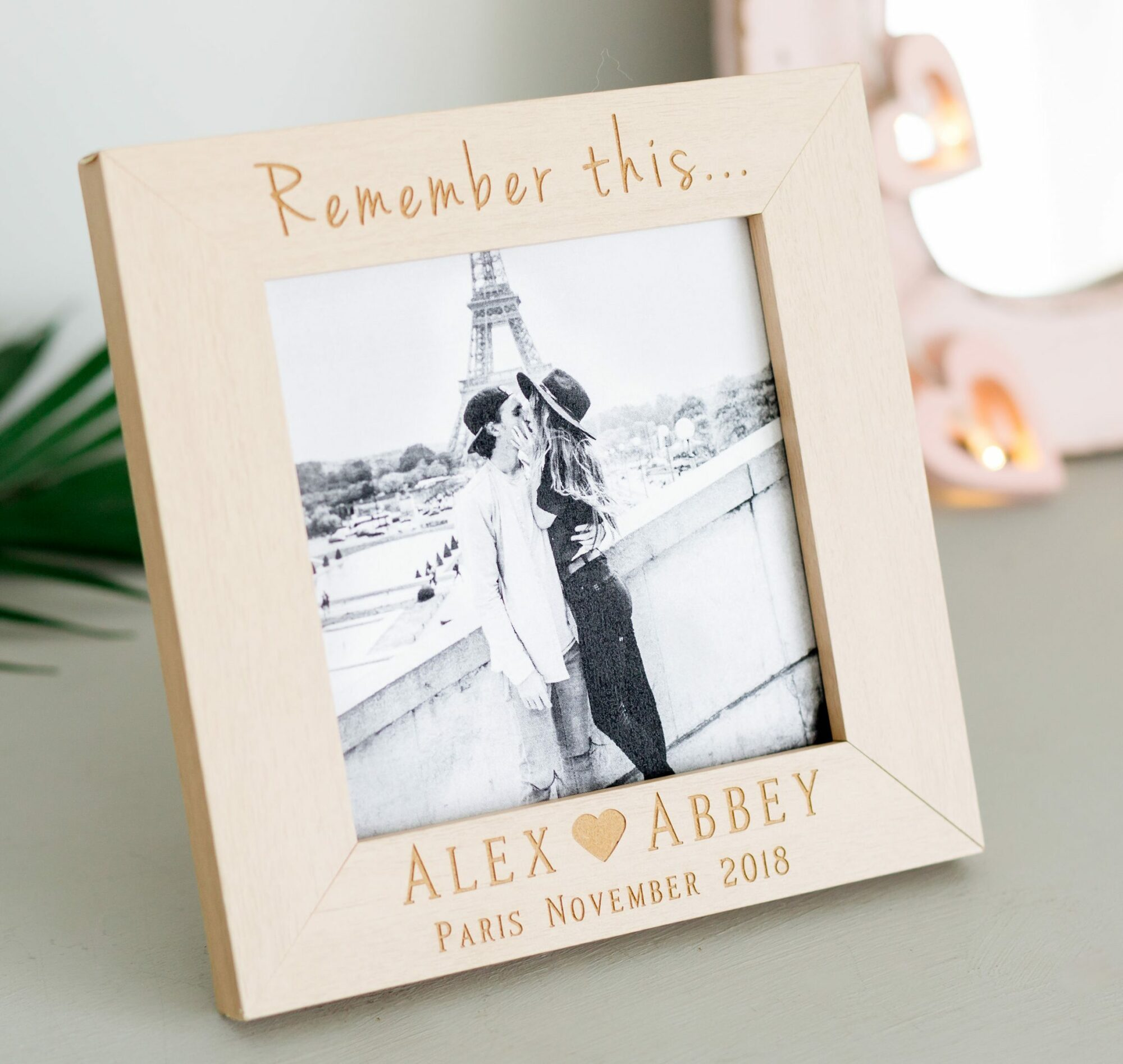 Remember This Personalised Photo Frame