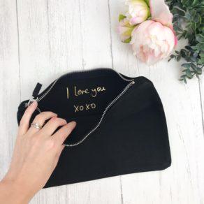 Personalised Secret Message Make Up Bag