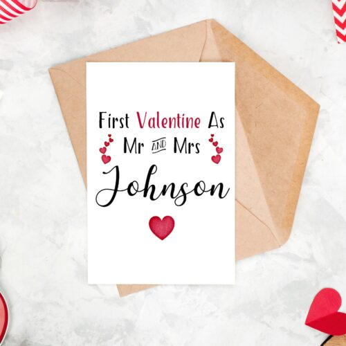Mrs Valentines Day Card