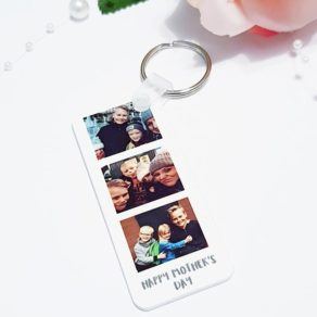 Personalised Mothers Day Photo Keyring