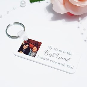 Personalised Mum Photo Keyring