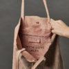 Personalised Large Suede Shoulder Bag