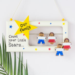 Personalised Wooden Family Frame