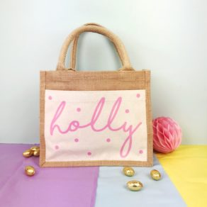 Personalised Easter Egg Hunt Cotton Bag