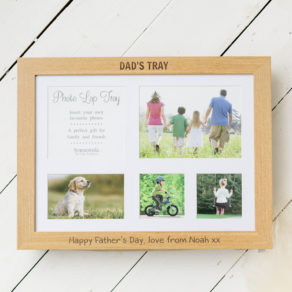 Personalised Father's Day Photo Lap Tray