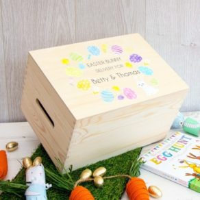 Personalised Easter Bunny Delivery Box