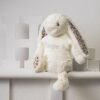 Cream Blossom Bunny Personalised Soft Toy