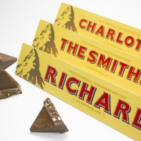 Personalised Toblerone Chocolate Bar