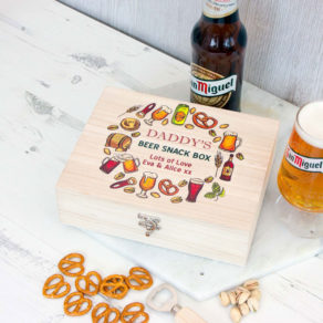 Beer & Snack Personalised Treat Box