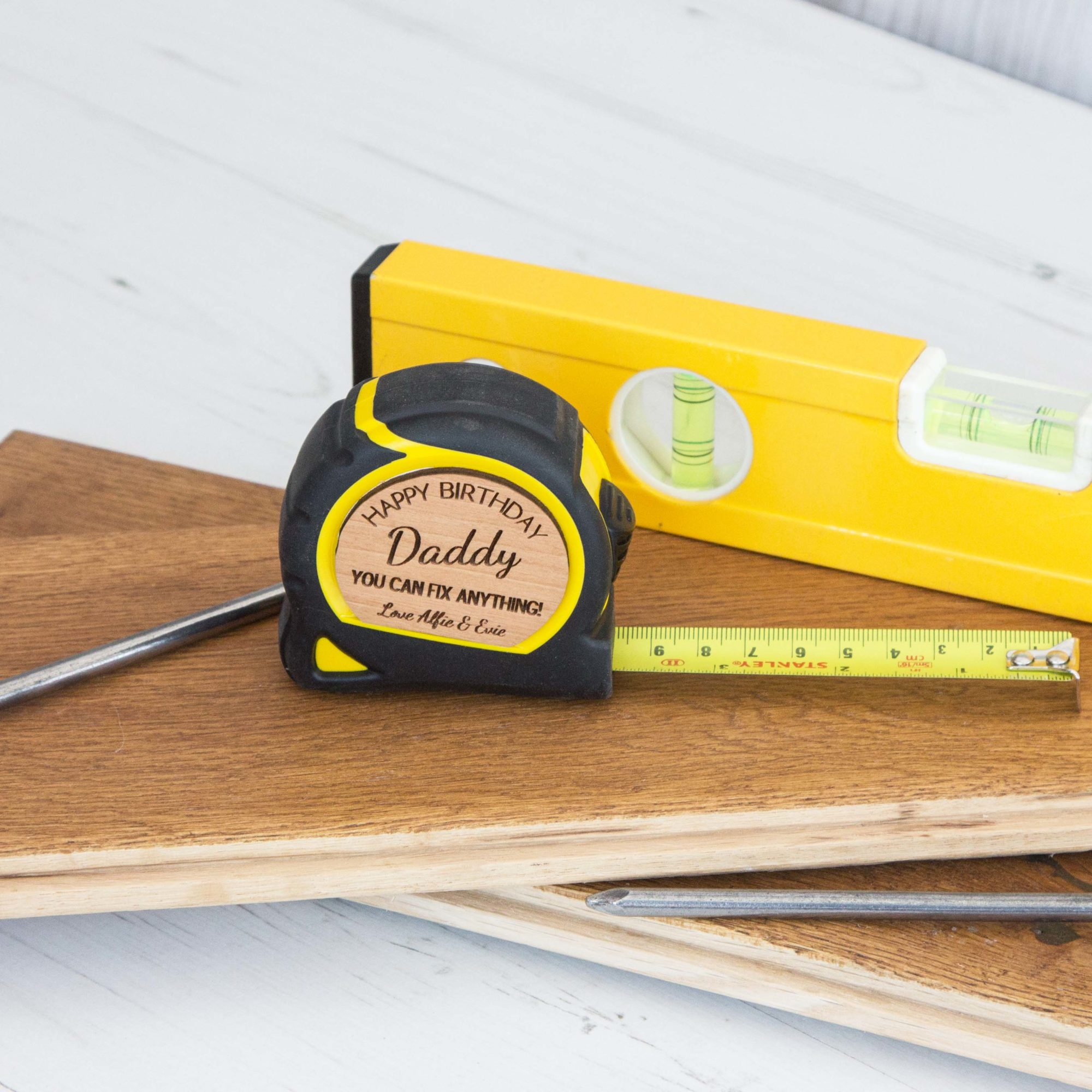Personalised Tape Measure Tool Love Unique Personal