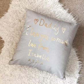 Personalised Child's Handwriting Cushion