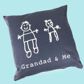 Grandad & Me Personalised Cushion