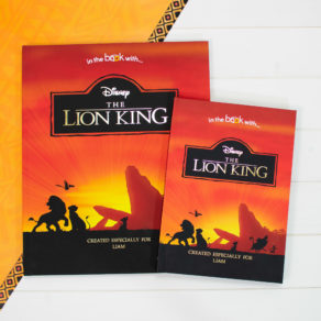 Personalised Premium Lion King Book