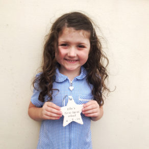 First Day At School Ceramic Star