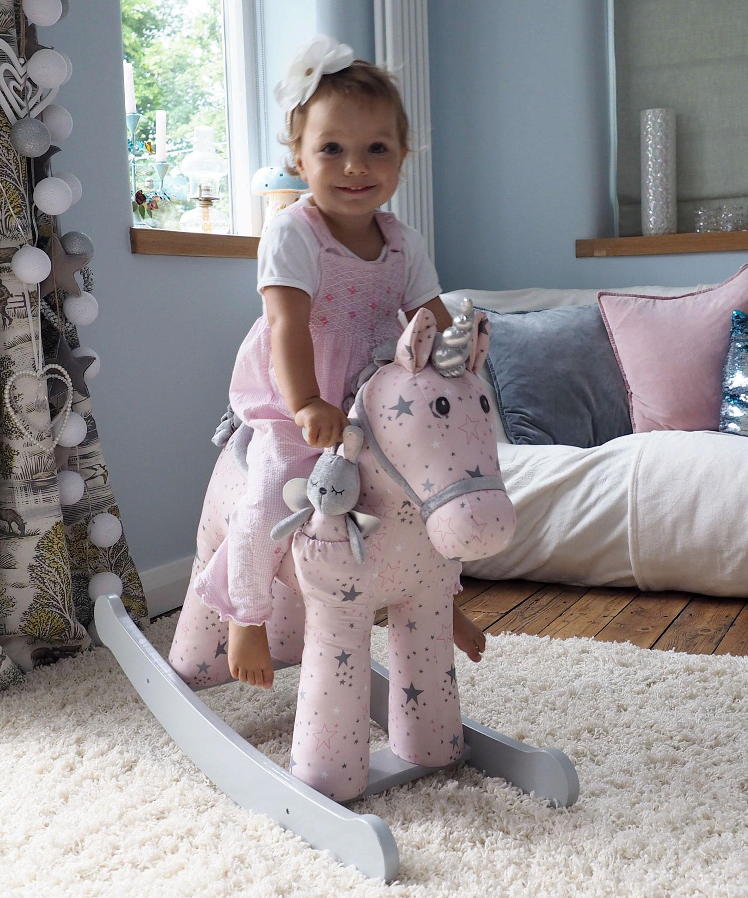 Celeste & Fae Personalised Rocking Unicorn Horse 12+ Months