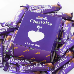Personalised Cadbury Dairy Milk Bars x 20