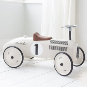 Personalised Metal Classic Ride On Toy Car