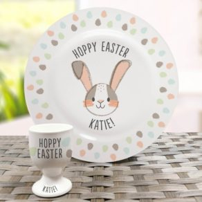 Personalised Easter Plate & Cup