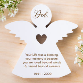 Remembrance Life Is A Blessing White Angel