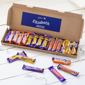Personalised Cadbury Chocolate Letterbox Hamper