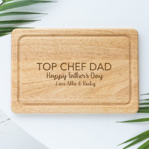 Personalised Dad Chopping Board