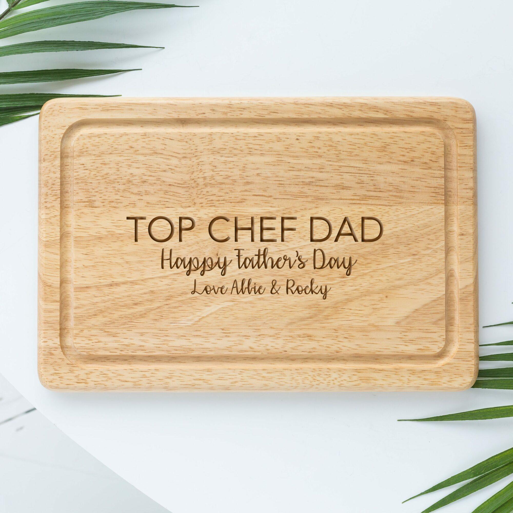 Personalised Dad Chopping Board