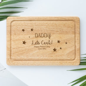 Personalised Daddy Chopping Board