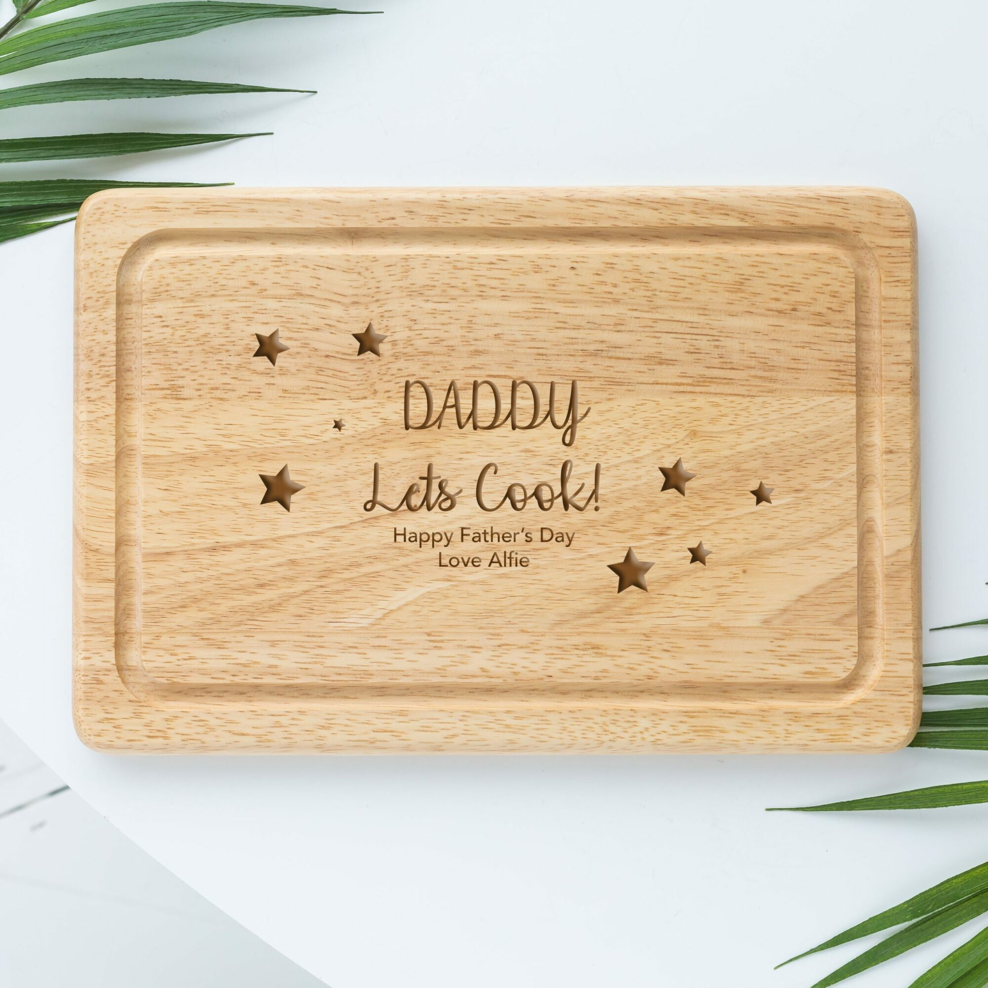 Personalised Daddy Chopping Board