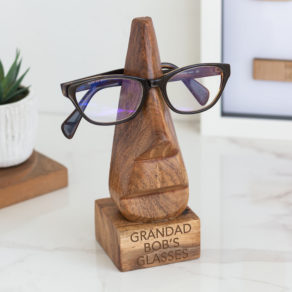 Personalised Men's Glasses Stand