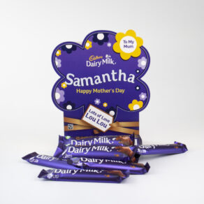 Personalised Mother's Day Cadbury Dairy Milk Chocolate Bars x 20
