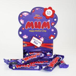 Personalised Mother's Day Cadbury Wispa Chocolate Bars x 20