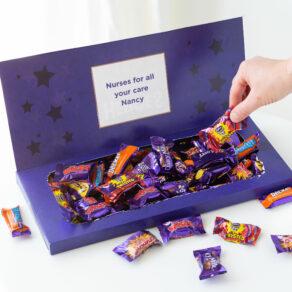 Personalised Cadbury Chocolate Heroes Mailbox Selection 580g (Copy)