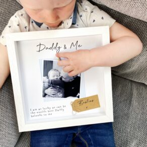 Personalised Daddy & Me Frame