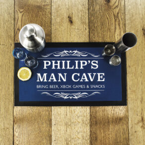 Personalised Gentlemen's Choose Colour.. Bar Beer Mat