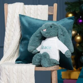 Personalised Jellycat Forest Bashful Bunny