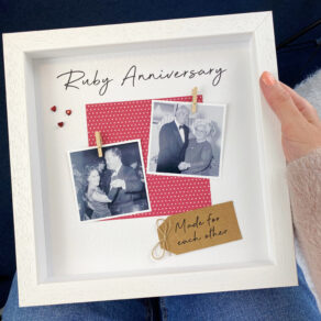 Personalised Anniversary Frame