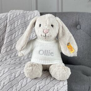 Personalised Steiff Hoppie Rabbit Medium Soft Toy