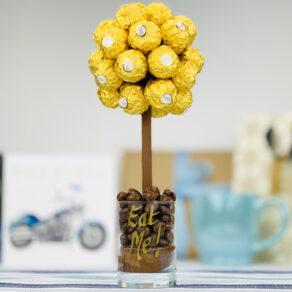 Personalised Ferrero Rocher Chocolate Tree